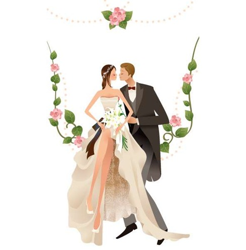 WeddingVectorGraphic2Preview
